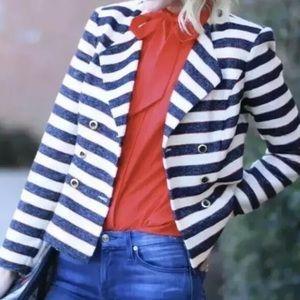 Cabi Love Carol Collection Blazer Jacket Striped 6